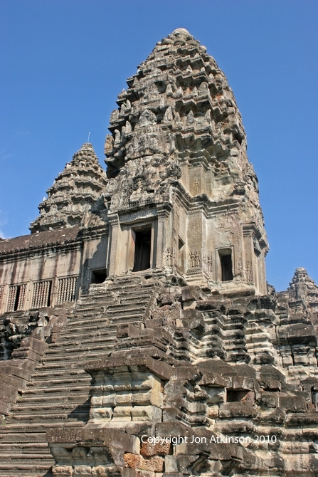 Central Stone Towers, Angkor Wat