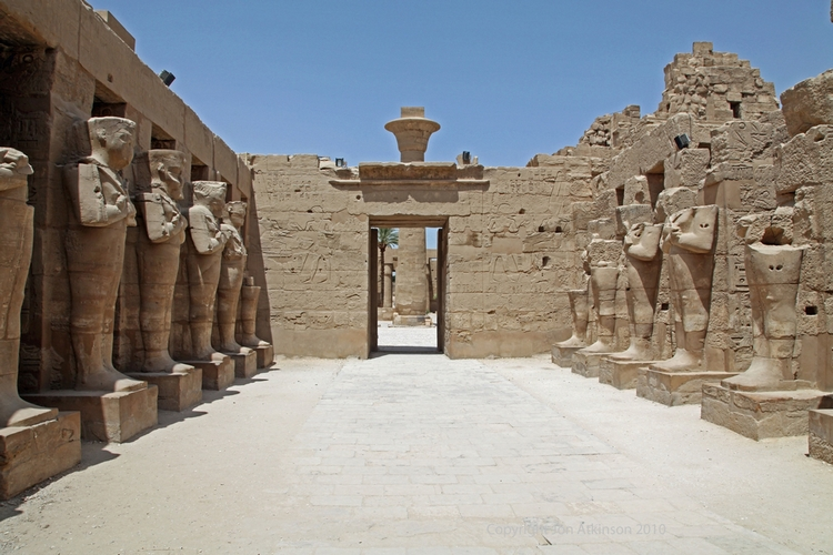 Temple of Ramesses III, Karnak Temple Complex