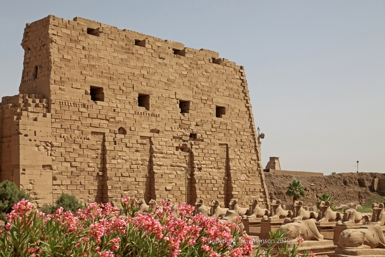 First Pylon, Karnak Temple
