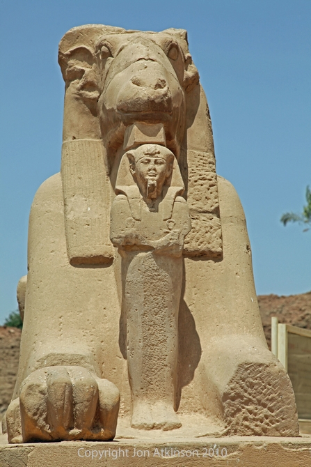 Sphinx, Karnak Temple