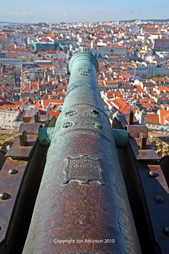 View from castle of São Jorge, Lisbon