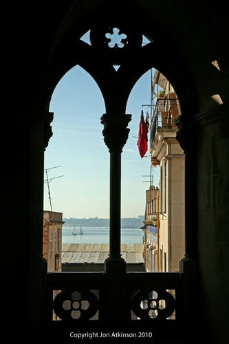 Tagus River View, Lisbon, Portugal