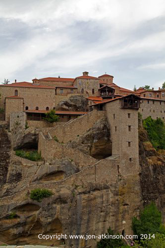 Meteora Images, Holy Monastery of Great Meteoron, Holy ...